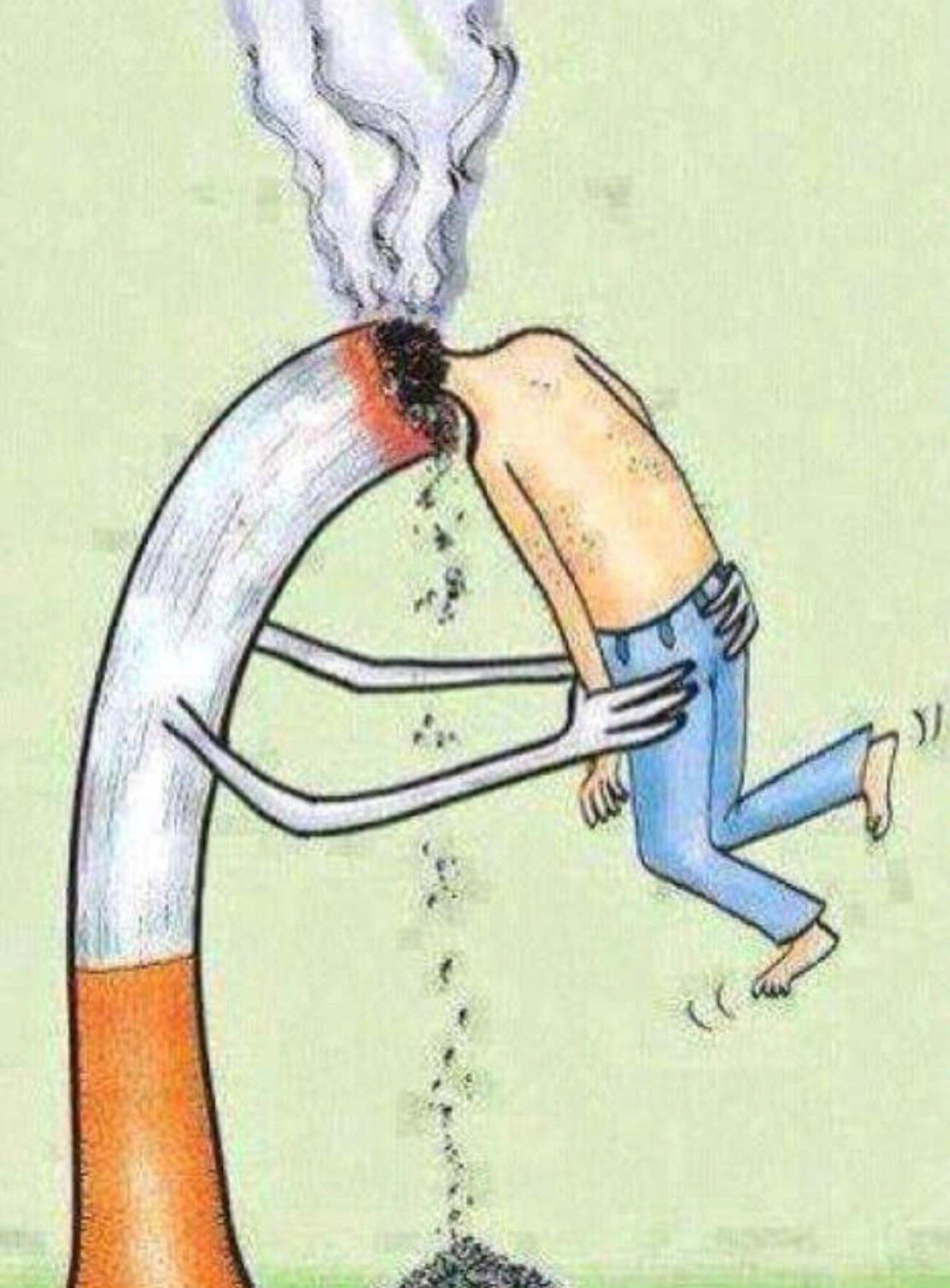 Лет, веселые картинки на тему курение